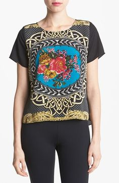 love the print on this top! so D&G and waaaaay less (on sale for $30!)