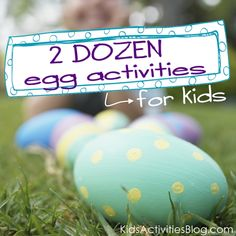 2 Dozen Easter Eggs Activities