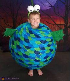 Homemade Pufferfish Costume