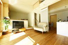 広島市中区Y様邸(防火地域木造3階建て・光冷暖導入物件):LDK