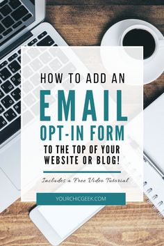 Are you giving your visitors multiple opportuntities to subscribe? If not, this article shows you how to add an email opt in form to the top of your site.