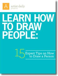 Learn How to Draw People: 15 Expert Tips on How to Draw a Person - Artist Daily Drawing Lessons, Drawing Techniques, Drawing Tips, Art Lessons, Painting & Drawing, Body Drawing, Art Tutorials, Drawing Tutorials, Color Pencil Art