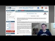 So what are in the GVO products exactly?  …At first I thought GVO was just a hosting company  I soon learned that they are way more then just hosting!  Watch this quick video now! Please Comment and share if you like this post on my blog.http://svisw1.gogvo.com