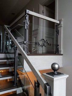 "Художественная мастерская ""ВЕМ"" Wrought Iron Stair Railing, Welding Projects, Blacksmithing, Metal Working, House Design, Interior Design, Architecture, Furniture, Shop Ideas"