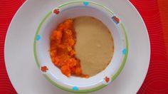 Cícerová kaša s mrkvou, batatom a pórom