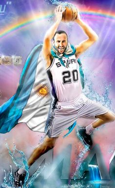 Nba Players, Basketball Players, 2013 Nba Finals, Manu Ginobili, San Antonio Spurs, The Man, Fan Art, Sport, Wallpaper
