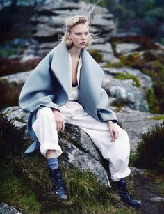 [editorial] 'Forest' | Juliana Schurig shot by Emma Tempest for Vogue Russia July 2014