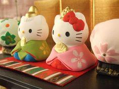 Hello Kitty  Hina ninyo dolls for Girls day.