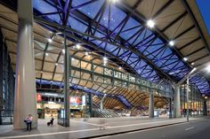 Southern Cross Station  Melbourne, Australia design by Grimshaw The design focus of Southern Cross Station is the dune-like roof that covers an entire city block via http://grimshaw-architects.com
