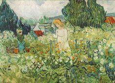 Marguerite Gachet in the Garden  Oil on canvas  46.0 x 55.0 cm.  Auvers-sur-Oise: June, 1890