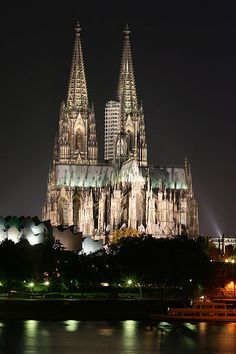 The Cathedral of Cologne Germany