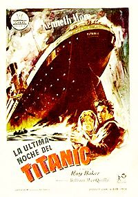 La última noche del Titanic | 1958  Domingo 14 de Abril. El Titanic cruza majestuosamente el Océano Atlántico. Los camarotes están llenos de gente rica y elegante, y los puentes, atestados de emigrantes de toda Europa. De repente, se avista un amenazante iceberg. El Titanic está condenado.    Estupenda recreación de la última noche del Titanic, que se hundió a las 2.30, el 15 de abril de 1912.