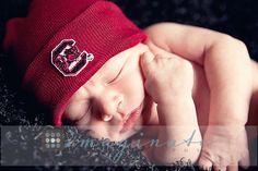 newborn baby boy, South Carolina Gamecocks