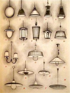 Gerhard Krohn / Fritz Hierl, Formschoene Lampen und Beleuchtungsanlagen, (Well-shaped Lamps and Lighting Systems), Verlag Callwey, Munich, 1952
