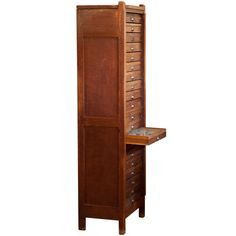 Curious insect cabinet, Belgium  1920's  Wonderful cabinet for insect specimens with 20 drawers. Each drawer has different bugs in it. Some are better preserved than others. Wouldn't this be an awesome jewelry case?  $2200