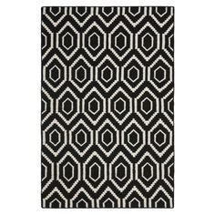 Shop Safavieh  DHU556L Dhurries Area Rug, Black / Ivory at Lowe's Canada. Find our selection of area rugs at the lowest price guaranteed with price match + 10% off.