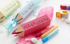 Süße Geschenkverpackung zum Selberbasteln