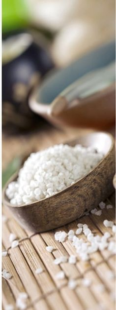 spa sea salt. One of the most popular ingredients used by spas around the world. At ESTHEVA, besides this, we use a myriad and blends of premium ingredients, including chocolate and honey, to create some of the most luxurious and exotic signature spa treatments and massages in Singapore and Asia. <www.estheva.com> #spasingapore #massagesingapore