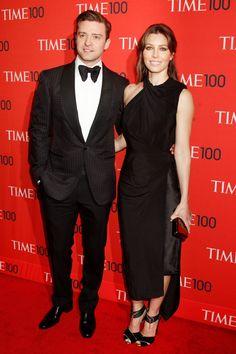 Justin Timberlake and Jessica Biel - best dressed