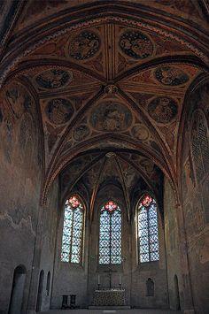 Jacobins de Toulouse convent, Toulouse, France.  13th c.