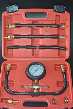 8milelake Gasoline Fuel Injection Pump Pressure Tester Test Pressure Gauge Tuner Gastest Tools for Gasoline Cars Trucks. For product info go to:  https://www.caraccessoriesonlinemarket.com/8milelake-gasoline-fuel-injection-pump-pressure-tester-test-pressure-gauge-tuner-gastest-tools-for-gasoline-cars-trucks/