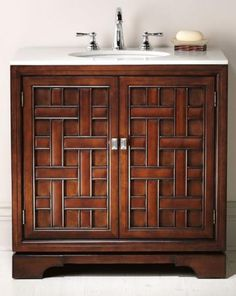 Single bath vanity from HomeDecorators.com