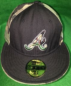 A personal favorite from my Etsy shop https://www.etsy.com/listing/466404545/atlanta-braves-camo-new-era-fitted-cap