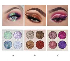 Devoted Focallure Eyeshadow Glitter Shimmer Sparkle Eye Shadows Long Lasting Sparkly Eyeshadows Pallete Cosmetics Makeup Eyes Cosmetic At Any Cost Beauty & Health Eye Shadow