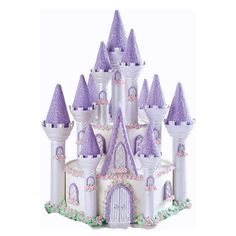 Take a look at this Wilton Romantic Castle Cake Mold Set on zulily today! Special Birthday, 4th Birthday, Birthday Parties, Decorating Supplies, Cake Decorating, Wilton Castle, Princesa Sophia, Cake Kit, Princess Castle