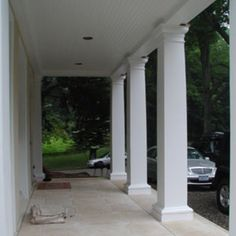 Square Tuscan Columns For Front Porch Column