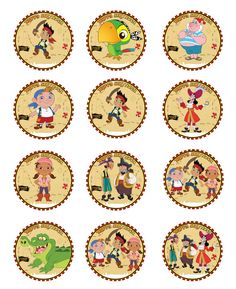 DIY Printable Jake and the Neverland Pirates by sohappyshop