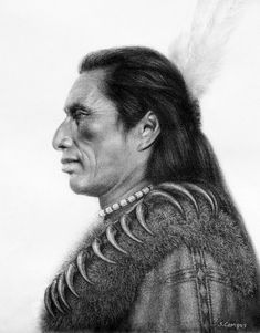 Crow Heart - Native American