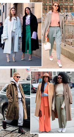 looks - trend - casaco - grande - usar