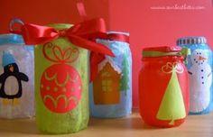 mason jar holiday luminaries