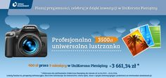 Profesjonalna, uniwersalna lustrzanka - 400 zł przez 9 miesięcy w UniKorona Pieniężny