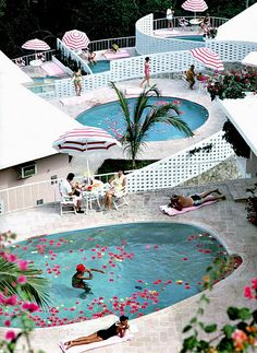 Endless Summer Meets Slim Aarons Just a little inspiration before we all go into our summer vacation. I started with the Endless Summer theme and I got distracted with the stunning Slim Aarons phot Slim Aarons, The Places Youll Go, Places To Go, New York Museums, My Pool, Beach Club, Home Projects, Summer Vibes, Summertime