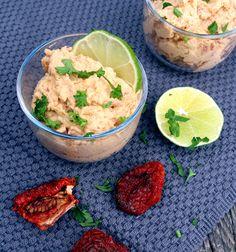 Oppskrift Beste Hjemmelaget Hummus Soltørket Tomat Kikerter