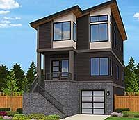 Exciting Contemporary House Plan