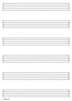 blank music staff to print - Google Search