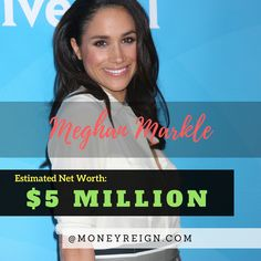 "Megan Markle is a Hollywood actress gone Royalty, and currently has a net worth of over $5 million. With her role on ""Suits"" now likely over, it's now just a question of what's up next for Megan, as her focus will move towards England and her potential role as a royal ambassador for the country."
