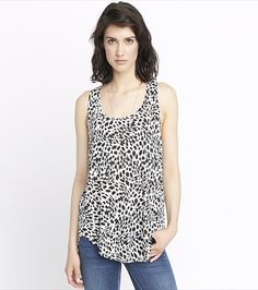 Keep it casual but fierce, with this fresh animal print tunic!