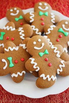 Spiced Gingerbread Man Cookies Recipe on Yummly. @yummly #recipe