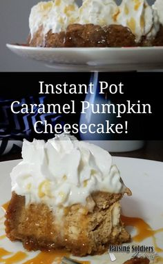 Do you love cheesecake? What about fixing it in your Instant Pot? Come check out today's Tasty Tuesday recipe!  via @RaisingSoldiers4Christ
