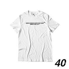 The ultimate freedom, grab this tee and write anything. Express yourself. Shop at Freedom, Street Style, Writing, Tees, Clothing, Mens Tops, T Shirt, Shopping, Instagram
