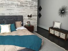 Stikwood feature wall on The Property Brothers!
