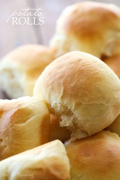 Potato Rolls from chef-in-training.com ...These rolls are made with mashed potatoes and are so soft and delicious!