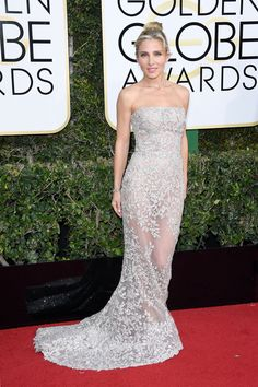 January 9 2017 - Elsa  Pataky at the Golden Globes