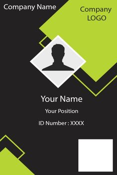 Identity Card Design, Id Card Design, Letterhead Design, Business Card Design, Id Card Template, Card Templates, Bio Data For Marriage, Employee Id Card, Free Printable Business Cards