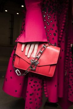 The bags backstage at Proenza Schouler Spring 2016