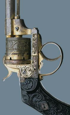 The age and patina really make this revolver stand out.